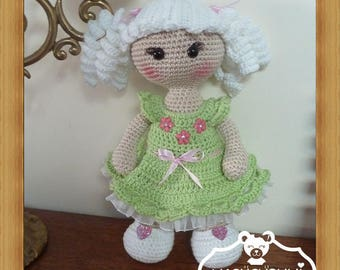Doll, crochet, Amigurumi plush