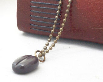Handmade Coffee Bean Necklace, Cute Teacher Gift for Coffee Lover, Barista Gift, Coffee Geek, Unisex Gift, Java Jewelry, Coffee Bean Jewelry