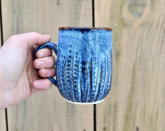 Urchin Mug - Electric Blue!
