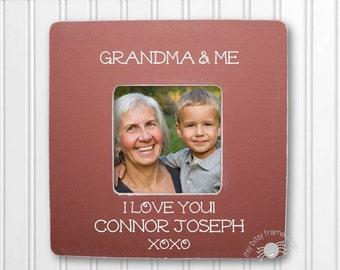 Grandma Gift Gift for Grandma Grandma Frame Grandmother Frame Nana Frame Grandparent Frame Personalized Frame Grandma and Me IBFSMAG