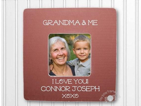 Personalized Grandma and Me Frame Grandma Frame Grandmother
