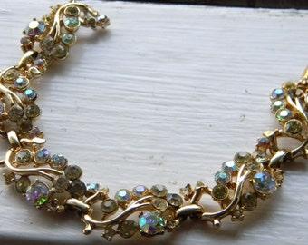 Vintage Juliana Style Rhinestone Bracelet