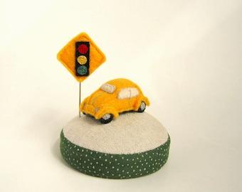 Mini Car Pincushion
