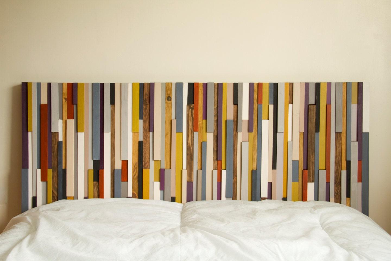 Very Wood Headboard Reclaimed Wood modern furniture FV79