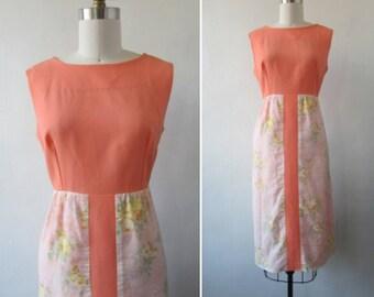 1960s dress | vintage dress | vintage 1960s dress | summer dress | vintage day dress | floral dress | 1960s day dress | The Andrea Dress