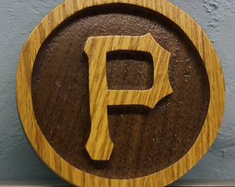 pittsburgh pirates scroll saw cut ornament