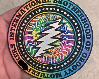 IBGMF Retro TieDye design vintage Grateful Dead and company tribute
