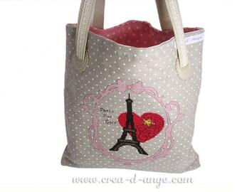 Paris for ever - Eiffel Tower - cross stitch pattern