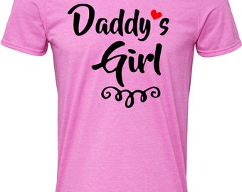 Daddys Girl Children's T-Shirt