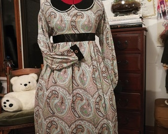 Vintage style baby doll lolita dress