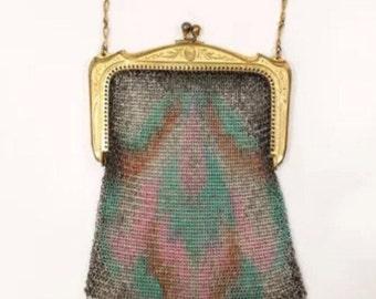 1900's  wristlet purse