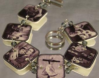 Sound of Music Bracelet - Old Movie Jewelry - Nostalgic Photo Jewellery