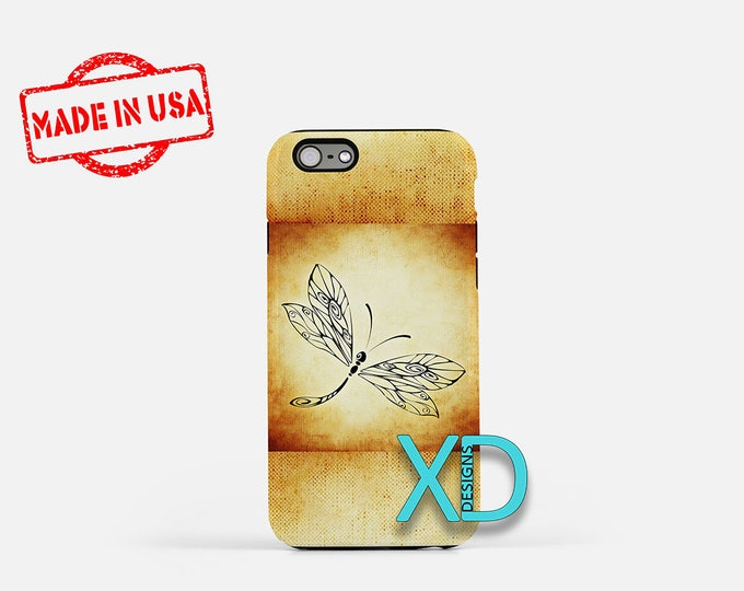 Dragonfly iPhone Case, Artistic iPhone Case, Dragonfly iPhone 8 Case, iPhone 6s Case, iPhone 7 Case, Phone Case, iPhone X Case, SE Case