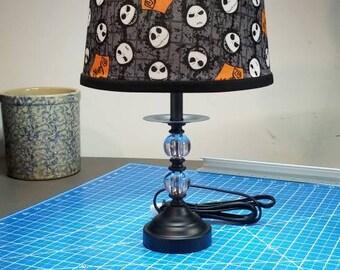 Nightmare Before Christmas Inspired Lamp