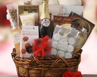 gifts, gift baskets, candles, baskets, romance, wedding, bridal,