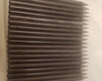 Lot of 21 Graphix woodless solid graphite pencils graphite sticks.