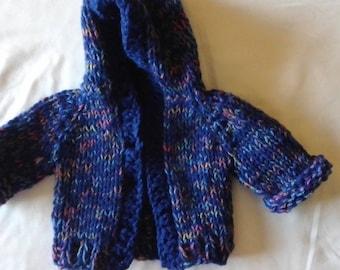Hoodie Sweater 3-6 months