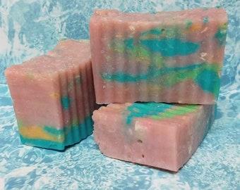 Shampoo/Body Bar, Bite Me Scent, 5.5-6.2 ounces, hot process, handmade