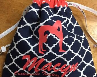 Personalized Drawstring Grip Bag