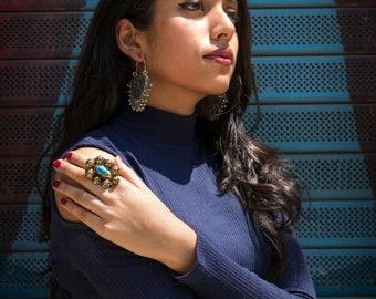 Vintage Afghan finger ring