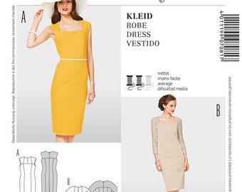 Burda 7081 Size 6-18 Misses Fitted Dress Sewing Pattern / Uncut FF