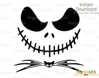 Jack Skellington Face Template 10553 | NEWSMOV