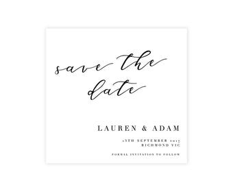 ADD ON ONLY   Complete Your Suite   Save The Date   Wedding Event Invitation Suite   Printable Digital File Printed Invite Invitations