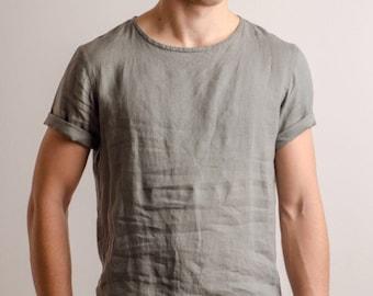 Comfort color linen t-shirts for men ceuzDEx