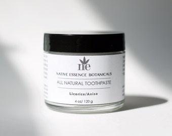 Natural Anise Toothpaste With Xylitol And Baking Soda - Vegan Toothpaste - Dental Hygiene