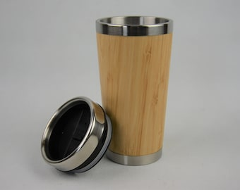 Bamboo Travel Flask