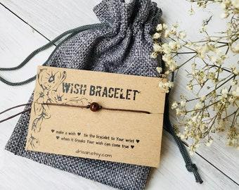 Pietersite stone wish bracelet, gemstone bracelets, string stone bracelet, cord bracelet, friendship string bracelet, pietersite bracelet