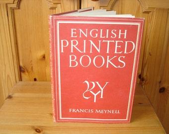 English Printed Books