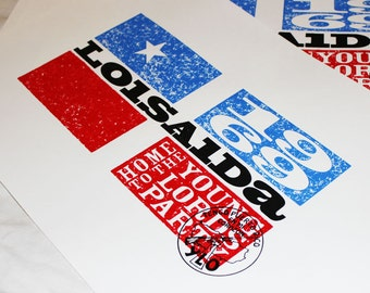 """Revolution Young Lords Party Limited Edition Screen Print 13""""x19"""" / """"FREE SHIPPING!"""""""