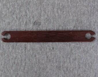 Exotic Wood Weaving Stick Shuttle - Purpleheart
