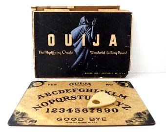 Vintage Original Ouija Board by William Fuld (Extra Large) Wonderful Talking Board Game in Original Box (c.1930-40s) N3 - Pre-Parker Bros.