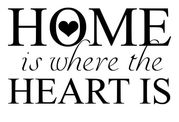 Home is where the heart is svg file quote cut file for Wallpaper home is where the heart is