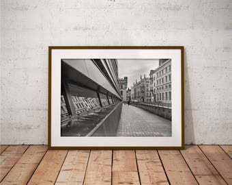 Metal Print - Wroclaw, Cityscape Photography - Metalic Aluminum Print, Fine Art, Wall Art, Nature Print, Home Decor, Photography