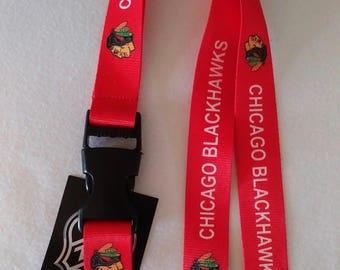 CHICAGO BLACKHAWKS LANYARD