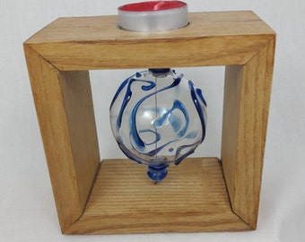 BALL GLASS CANDLE