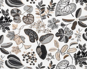 Foliage - IKEA Syssan Linen / Cotton Blend Fabric