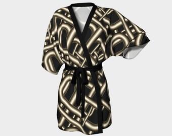 Hard Wired' Kimono Robe
