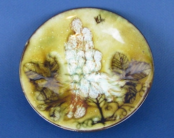 Vintage Pedestal Bowl from the Chelsea Pottery Company - Made in England.