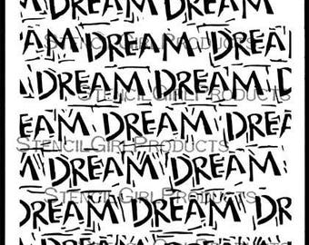 "Dream 6"" x 6"" Stencil"