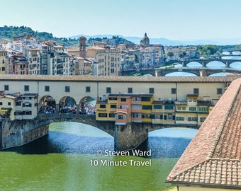 Florence Italy - The Ponte Vecchio Bridge