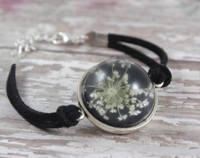 Queen Anne's Lace Dome Bracelet