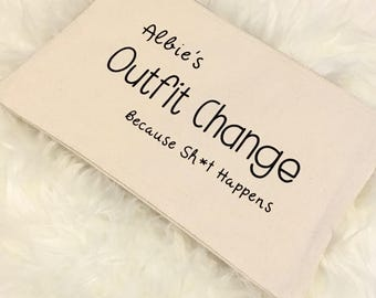 Outfit Change Bag (Because Sh*t Happens)