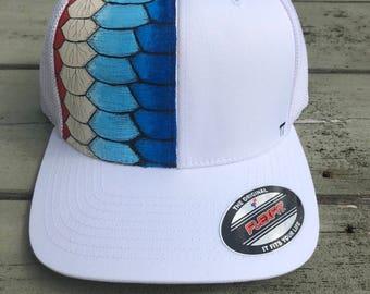 Tarpon Scale Fishing Hat