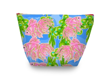 Gusseted Cosmetic Bag