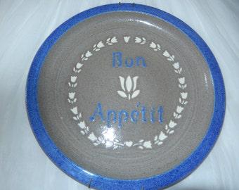 BON APPETIT WALL Hanging Plate