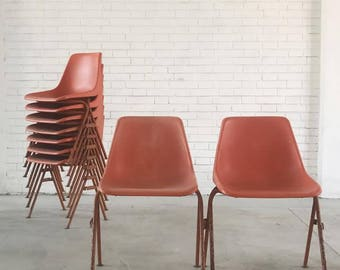 Orange Vintage Chairs